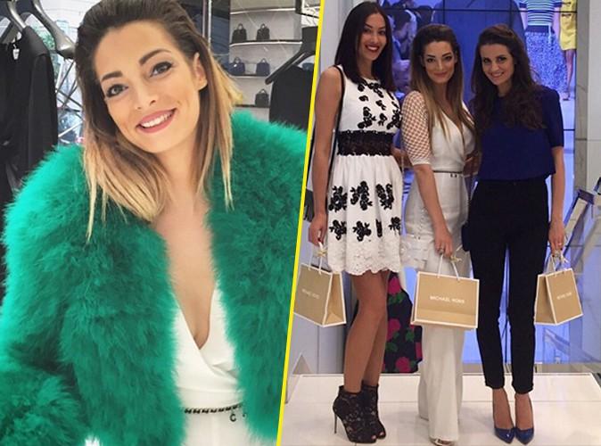 Photos : Émilie Nef Naf et Sidonie Biemont : des wags qui font sensation à Milan !