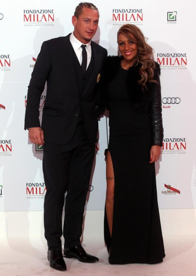 Philippe Mexès et sa compagne