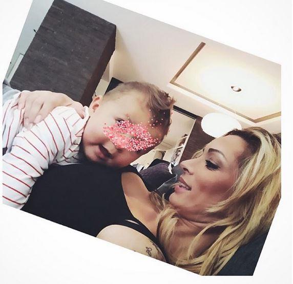 Emilie Nef Naf et son fils
