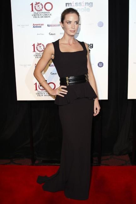 Emilie Blunt le 20 janvier 2013 à Londres