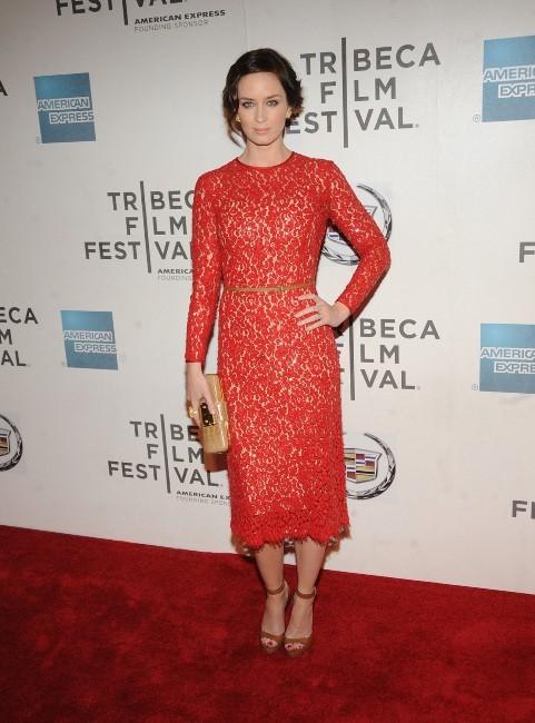 Emily Blunt lors de la première du film My Sister's Sister à New York, le 19 avril 2012.