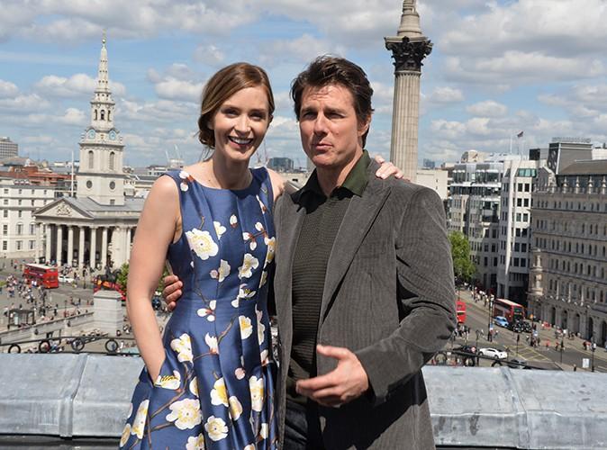 Emily Blunt et Tom Cruise à Londres le 25 mai 2014