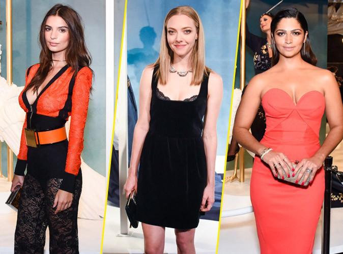 Emily Ratajkowki, Amanda Seyfried, Camila Alves : Trio raffiné pour la soirée TargetStyle !