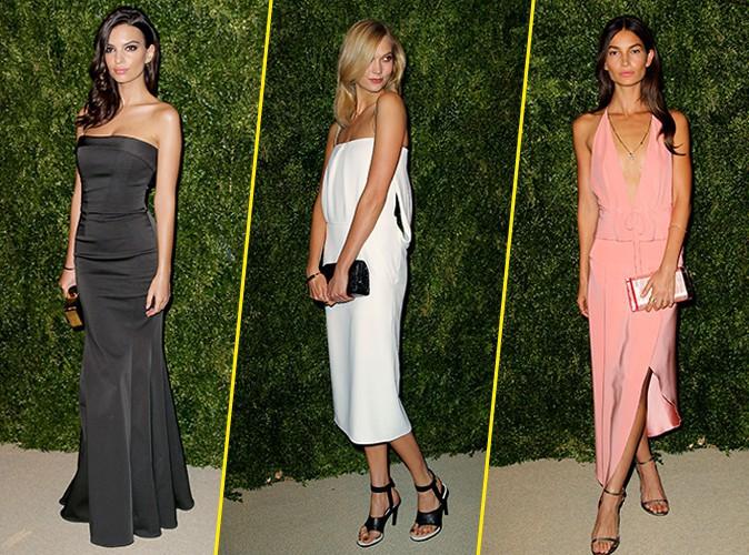 Photos : Emily Ratajkowski, Karlie Kloss, Lily Aldridge : le top des canons de beauté au CFDA/Vogue Fashion Fund 2014 !