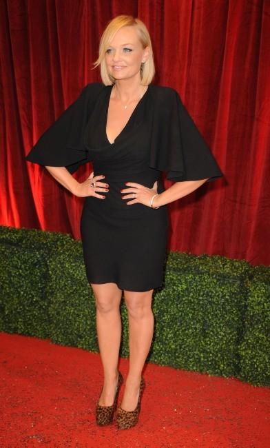 Emma Bunton lors de la soirée des British Soap Awards 2012 à Londres, le 29 avril 2012.