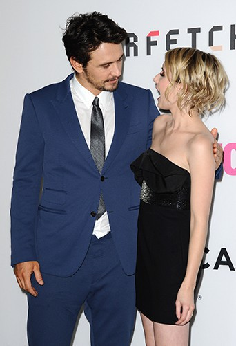 James Franco et Emma Roberts à Los Angeles le 5 mai 2014