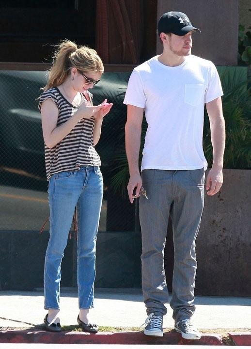 Attention Emma, ton homme va se mettre à courir !