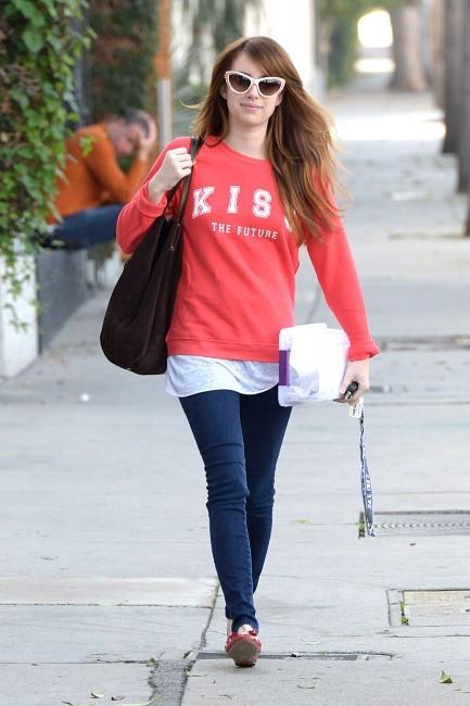 Emma Roberts le 27 novembre 2012 à Los Angeles