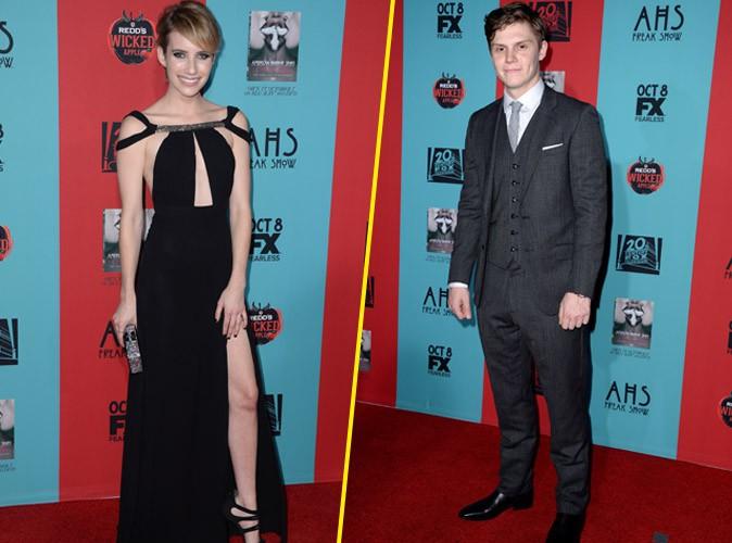 Emma Roberts et Evan Peters le 5 octobre 2014