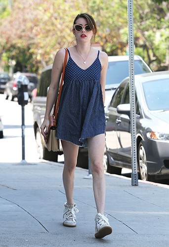 Emma Roberts à West Hollywood le 2 juillet 2013