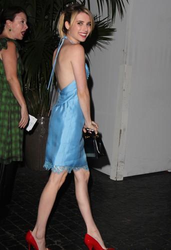 Emma Roberts à Los Angeles le 24 septembre 2013