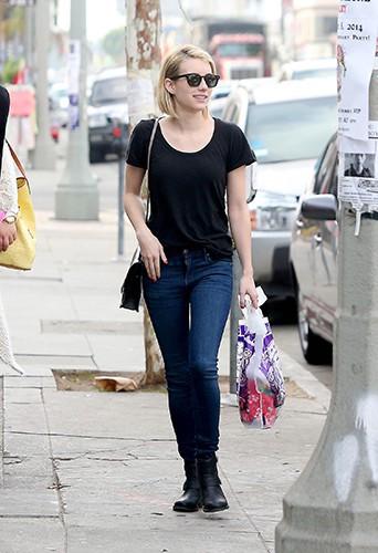 Emma Roberts à Los Angeles le 28 janvier 2014