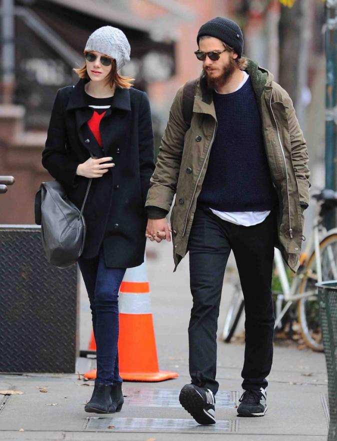 Emma Stone et Andrew Garfield : main dans la main, ils pourraient aller jusqu'au bout du monde !