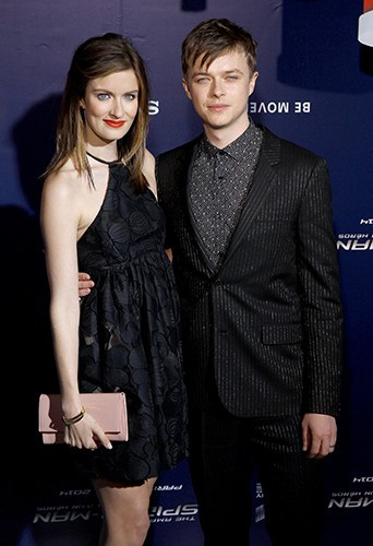 Dane DeHaan et sa femme Anna Wood à Paris le 11 avril 2014
