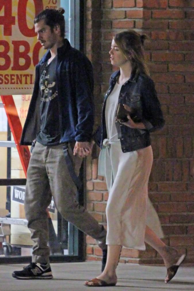 Emma Stone et Andrew Garfield : Tout roule pour les deux tourtereaux !