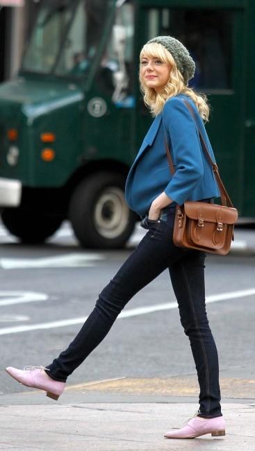 Emma Stone le 28 mai 2013 à New York