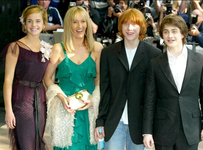 Photos : l'équipe d'Harry Potter en 2004