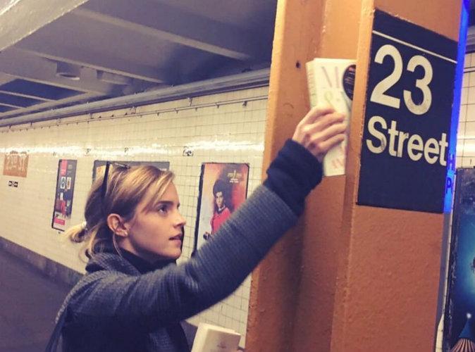 Emma Watson : après Londres, elle lance une chasse au trésor à New York !