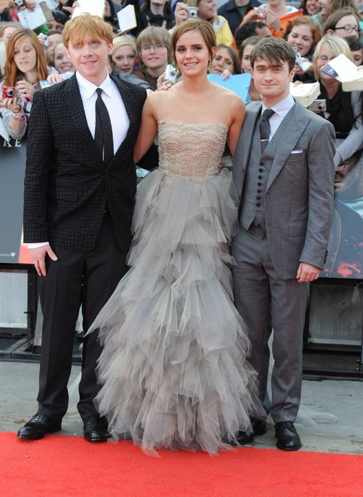 Emma entourée de ses deux plus fidèles compagnons !