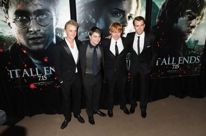 Les garçons de Harry Potter au complet...