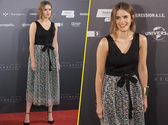Emma Watson �g�rie glamour pour son nouveau film !