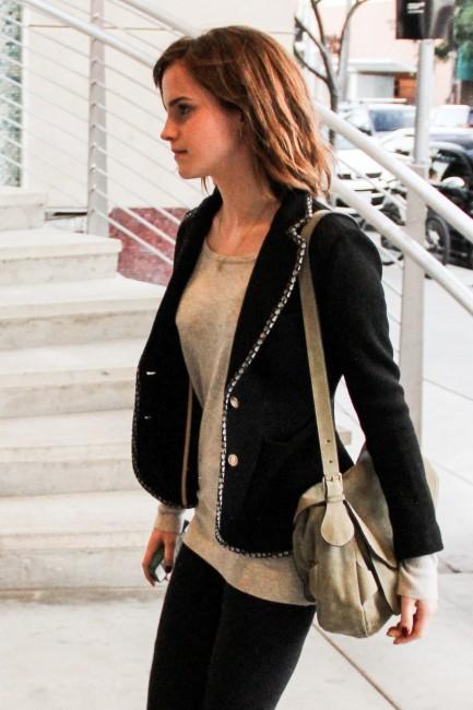 Emma Watson, Beverly Hills, 12 février 2013