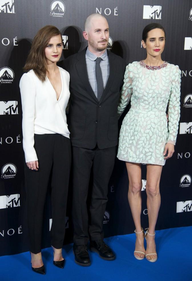 Emma Watson : une beaut� british renversante aux c�t�s d'une Jennifer Connelly � tomber...