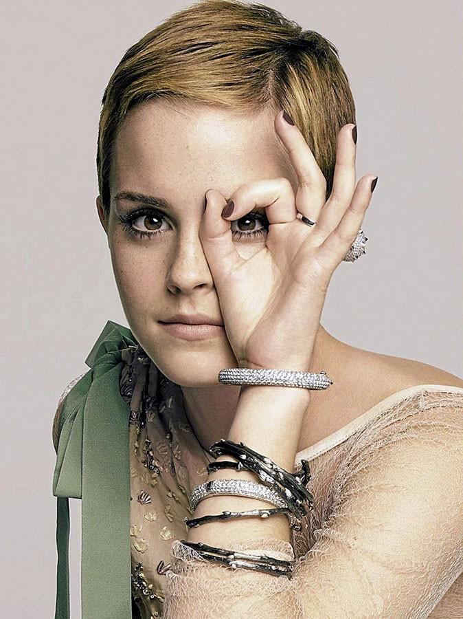 Photos : Emma Watson pour la campagne Lancôme