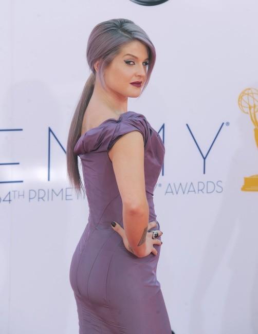 Kelly Osbourne lors de la 64e cérémonie des Emmy Awards à Los Angeles, le 23 septembre 2012.