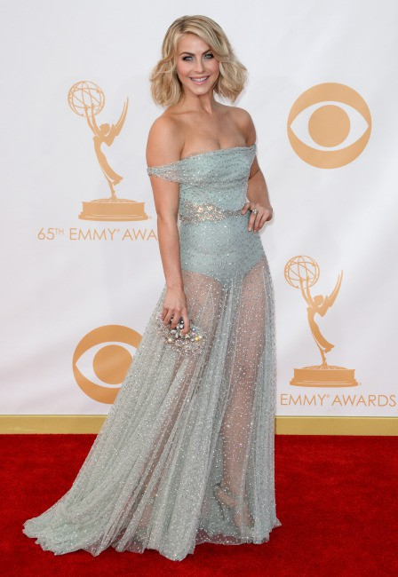 Julianne Hough lors de la cérémonie des Emmy Awards à Los Angeles, le 22 septembre 2013.