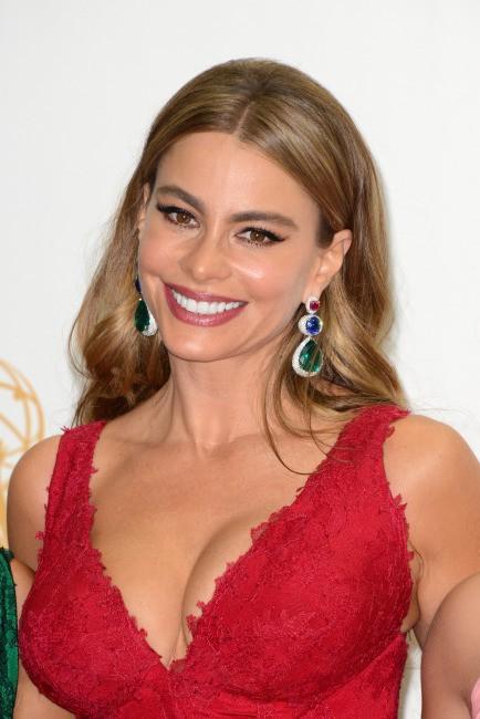 Sofia Vergara lors de la cérémonie des Emmy Awards, le 22 septembre 2013.