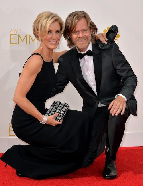 Felicity Huffman (Desperate Housewives) et William H.Macy (mariés depuis 1997)