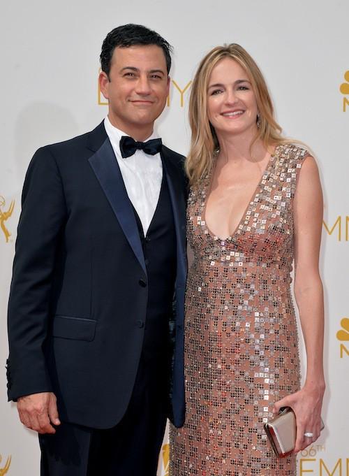 Jimmy Kimmel et Molly McNearney (en couple depuis 2009)