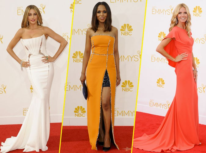 Photos : Emmy Awards 2014 : Sofia Vergara, Kerry Washington, Heidi Klum : le meilleur et le pire du red carpet !