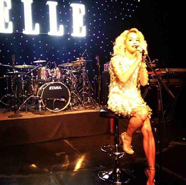 Rita Ora fait son show