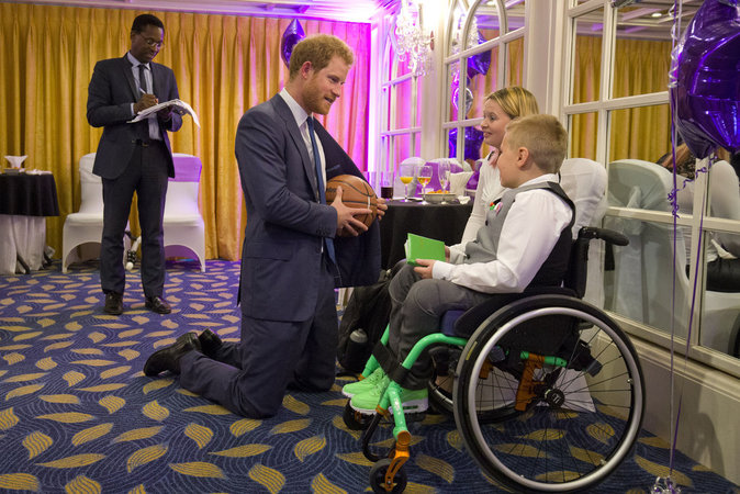 Le prince Harry le 5 octobre 2015