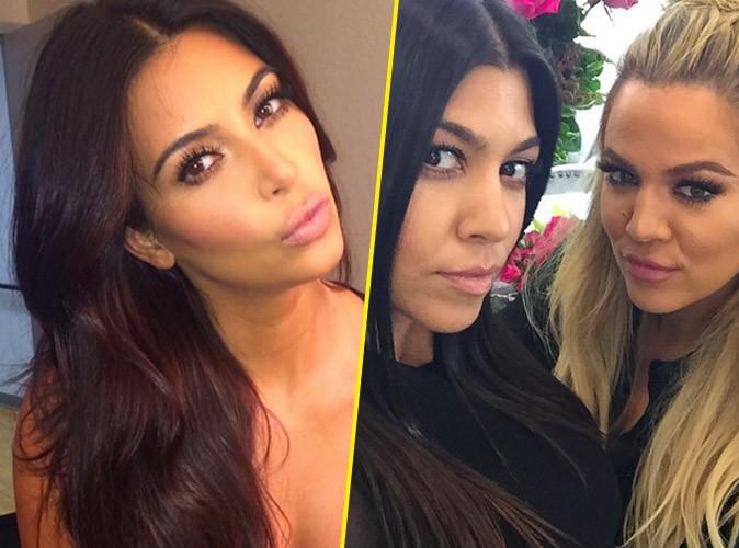 Entre selfie solo et selfie duo, les sœurs Kardashian ont fait leur choix !