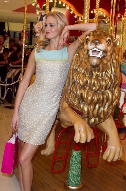 Erin Heatherton le 26 février 2013 à Mexico