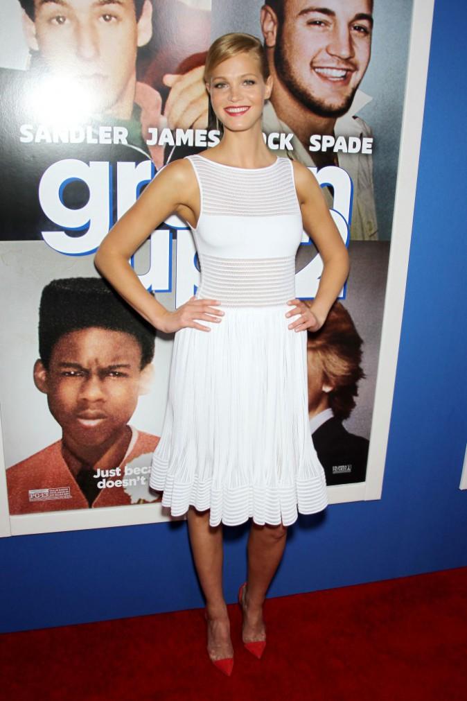 """Erin Heatherton lors de la première du film """"Copains pour toujours 2"""" à New York, le 10 juillet 2013."""