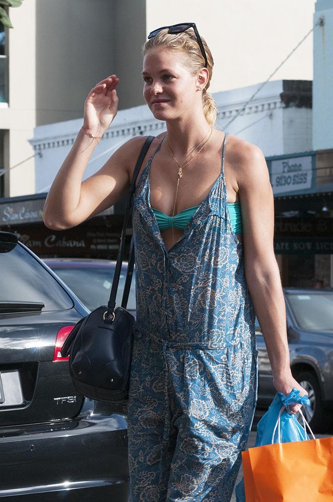 Erin Heatherton à Sydney le 26 janvier 2014
