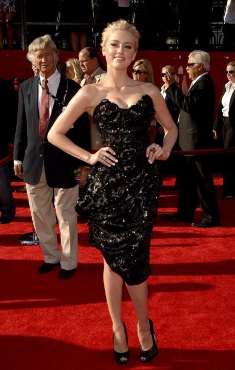 Amber Heard lors de la cérémonie des ESPY Awards à Los Angeles, le 13 juillet 2011.