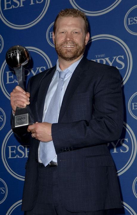 Timothy Thomas lors de la cérémonie des ESPY Awards à Los Angeles, le 13 juillet 2011.