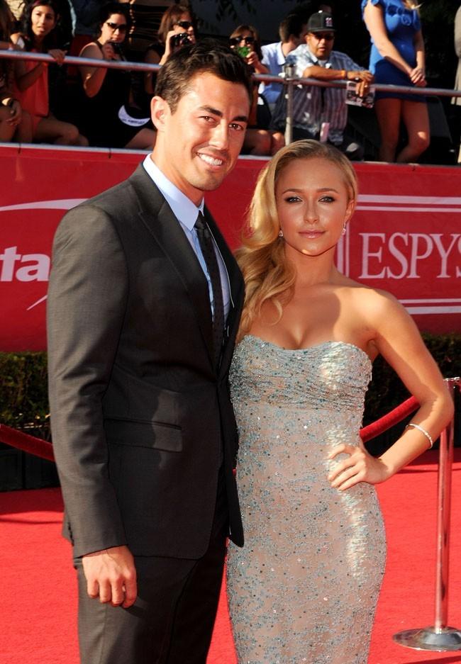 Hayden Panettiere et son boyfriend Scotty McKnight le 11 juillet 2012 à Los Angeles