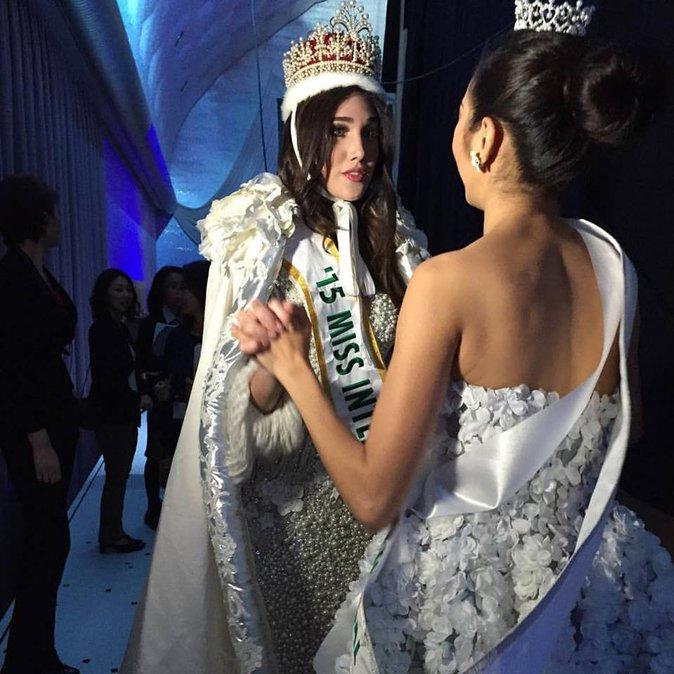 Photos : et Miss International est...