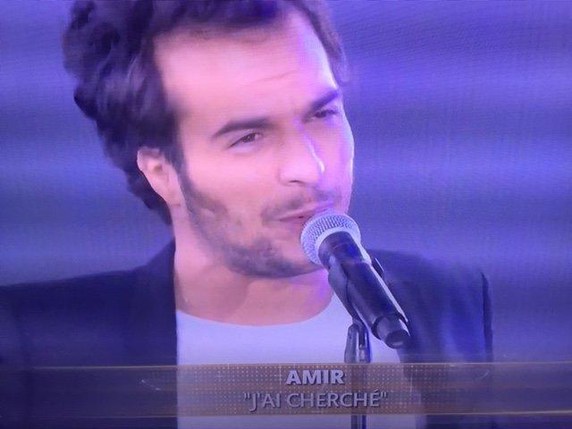 Photos : Euro 2016 : Amir fait le show d'ouverture à la Tour Eiffel !