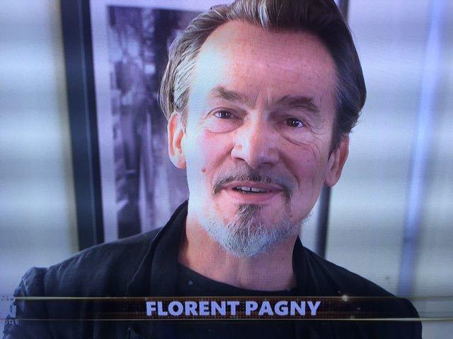 Photos : Euro 2016 : Florent Pagny fait le show d'ouverture à la Tour Eiffel !