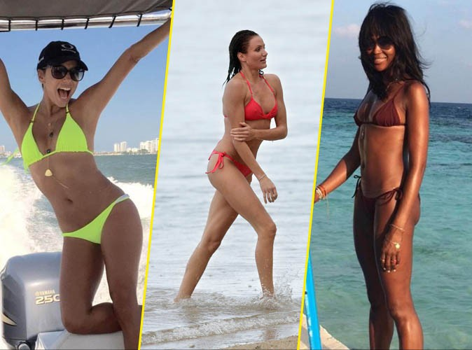 Eva Longoria, Cameron Diaz, Naomi Campbell... 40 ans passés et toujours aussi sexy en bikini !