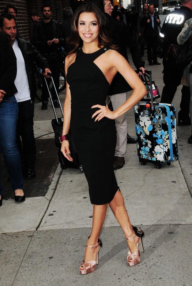 Eva Longoria le 9 mai 2012 à New York