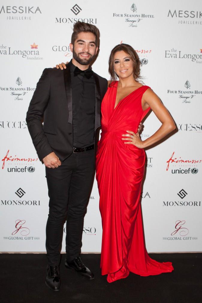 Eva Longoria et Kendji Girac le 25 mai 2015