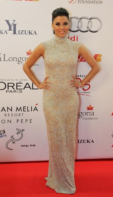 Eva Longoria lors du Global Gift Gala à Marbella, le 4 août 2013.